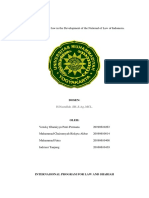 The Role of Islamic law in the Development of the National of Law of Indonesia english.docx