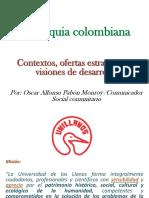 Orinoquia colombiana contextos, ofertas estratégicas y visiones de desarrollo- Autor Oscar Pabón Monroy