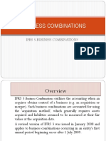 BUSINESS COMBINATIONS (IFRS 3)