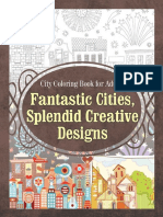 City Coloring Book for Adults Fantastic Cities, Splendid Creative Designs.pdf