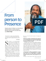 from person to presence