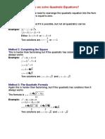 Mixed Quadratics Notes.doc