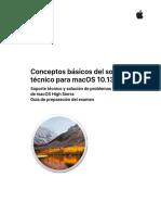 Conceptos Basicos Del Soporte Tecnico Para MacOS