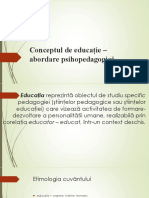 seminar 2+ seminar 3 - FUNDAMENTELE PEDAGOGIEI