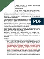 2019 CANNOVA GIANFRANCO  SENTENZA 5422 2019  TRIBUNALE DI PALERMO SEZIONE III PENALE REPUBBLICA ITALIANA IN NOME DEL POPOLO ITALIANO