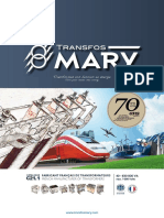 Catalogue Mary - Transformateurs - 2019