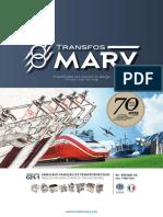 Catalogue Mary - Transformateurs - 2019