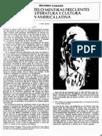 Diez errores o mentiras frecuentes sobre literatura y cultura en América Latina, de Eduardo Galeano, Revista de la Universidad de México, núm. 1, septiembre, 1980