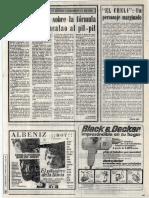Sobre el origen del bacalao al pil-pil - 14 julio 1974