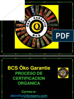 BCS CERTIFICACION