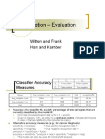 Classification Evaluation
