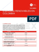 ANALISIS DE ENERGIAS RENOVABLES EN COLOMBIA