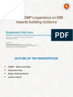 BD_Side Event - Sharing CMMP Bangladesh Experience on DRR towards building resilience.pptx