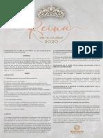 Convocatoria reina Feria de las Fresas Irapuato 2020