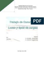 losas y tipos de cargas - concreto