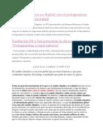 La COP25 arranca en Madrid con el protagonismo definitivo de la juventud