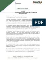 15-01-20 Destaca Gobernadora Se Incluya a Naco y Agua Prieta en Programa de Mejoramiento Urbano