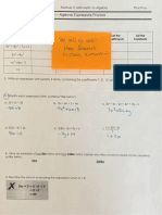characteristics of linear function pratice worksheet a hw ak