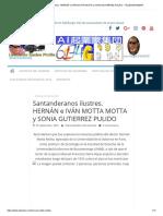 Santanderanos ilustres.