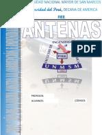 Antenas laboratorio fibra óptica