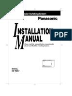 Pabx Kx t206 Installation Manual1