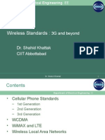 Wireless Standards-3G and Beyond