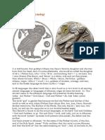 Athena goddess - etymology