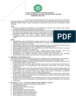 PROGRAM KERJA HW-PERIODE 2016 - 2021(BP)
