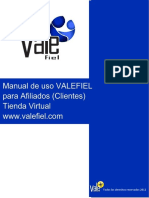 Manual VALEFIEL TiendaVirtual
