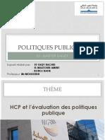 HCP et l'évaluation des politiques publique.pptx