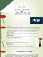 SEMINAIRE CHAMBRE DE COMMERCE (salaire)