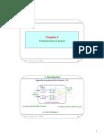 Chapitre 5. 1. Introduction. Ordonnancement de paquets. Approches de gestion de files d attente (1_2) Attente dans les files d entrée