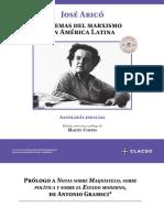 Aricó, Prólogo a Notas sobre Maquiavelo