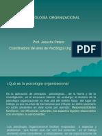 la psicología organizacional