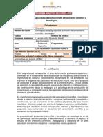 PAC Estrat pedagógicas cientifico y tecnológico revisión