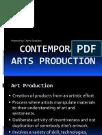 Contemporary Arts Production