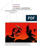 The economist. The rise of state capitalism