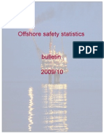 Offshore Safety Statistics 2009 - 2010
