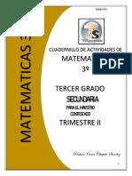 3o 2T MAESTRO- MATEMATICAS CUADERNILLO DE ACTIVIDADES