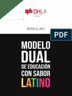 Modelo Dual de Educacion con Sabor Latino