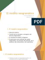 El modelo neogramático