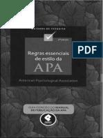 Regras essenciais de estilo da APA