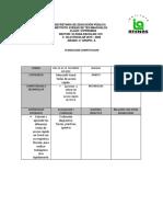 Planeaciones cuarto de primaria del 10 al 13 de Enero 2020 - Fernanda Gonzalez