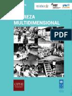 Indice de Pobreza Multidimensional Panama