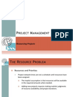 8. Resourcing Projects