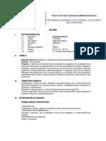 Sílabo 2020-0, Economía General UDH