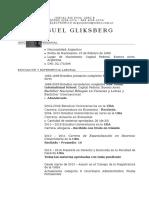 -CV Miguel Gliksberg-