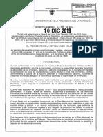DECRETO 2278  DEL 16 DICIEMBRE DE 2019