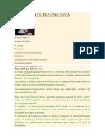FISIOPATOLOGIA SANGUINEA