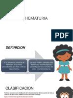 HEMATURIA PAULA